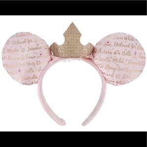 Minnie Mouse Crown Ears